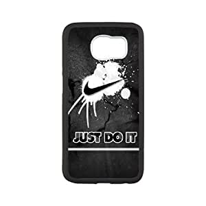 Just Do It Samsung Galaxy S6 Cell Phone Case White Dbxwh