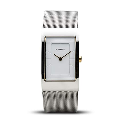 BERING Womens Analogue Quartz Watch with Stainless Steel Strap 10222-010-S
