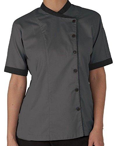 short sleeved chef coat - 9