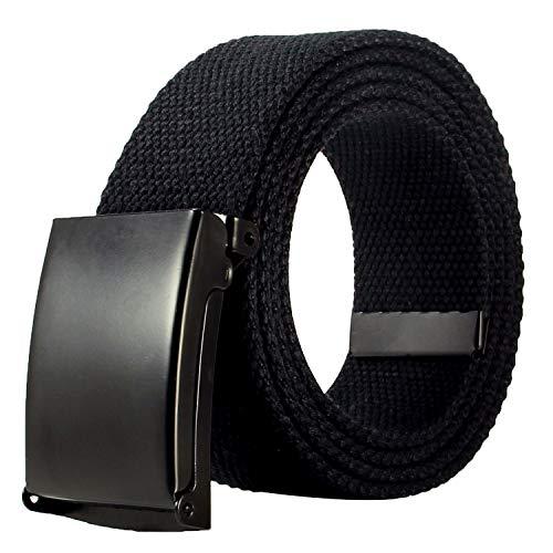 JINIU Men's Canvas Web Belt with Military