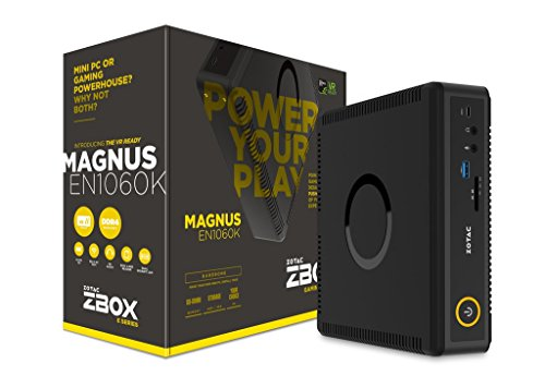 ZOTAC ZBOX-EN1060K-U MAGNUS Gaming Mini PC Intel Kaby Lake Core i5 NVIDIA GeForce GTX 1060 VR Ready Barebone
