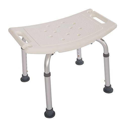 Mefeir Upgraded 450LBS Medical Shower Bath Lift Chair with Seat, Handicap Stool Bench Transfer Seat, Heavy Duty Adjustable 7 Height,No Tools Assembly No-slip,SPA Bathroom Bathtub Tub Chair,FDA Approve
