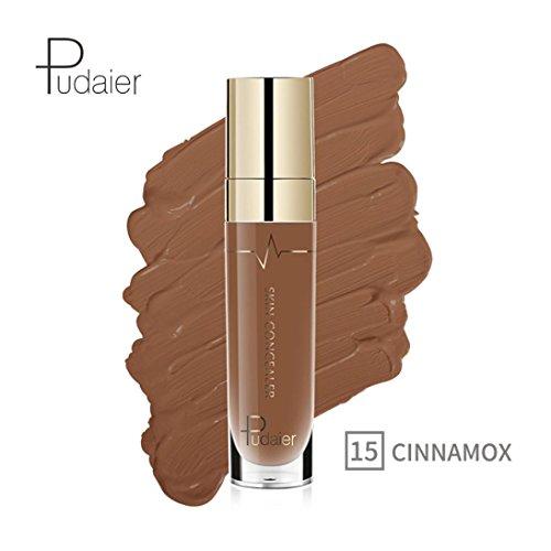 Oksale 22 Colors Face Eye Foundation Concealer Highlight Contour Liquid Stick Makeup Natrual Cream (#15)