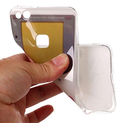 Funda para Huawei P10 Lite , IJIA Transparente Dreamcatcher TPU Silicona Suave Cover Tapa Caso Parachoques Carcasa Cubierta para Huawei P10 Lite (5.2) XS68