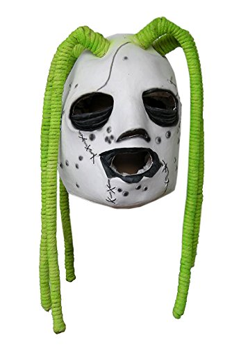 Corey Taylor Slipknot Mask (Slipknot Corey Taylor Style Iowa Latex Dreadlock Mask Dreadlock)