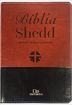 Bíblia Shedd - Marrom E Preto - Capa Nova - Acabamento Luxo