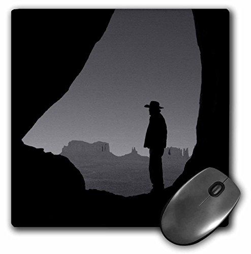 Teardrop Monument - 3dRose Danita Delimont - People - Navajo Indian Guide, Teardrop Arch, Monument Valley, Arizona, USA - MousePad (mp_258740_1)