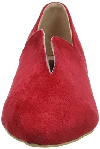 Mocassins Femme Ink Rouge red Lost Britney 0055 xg7PwEg4qF