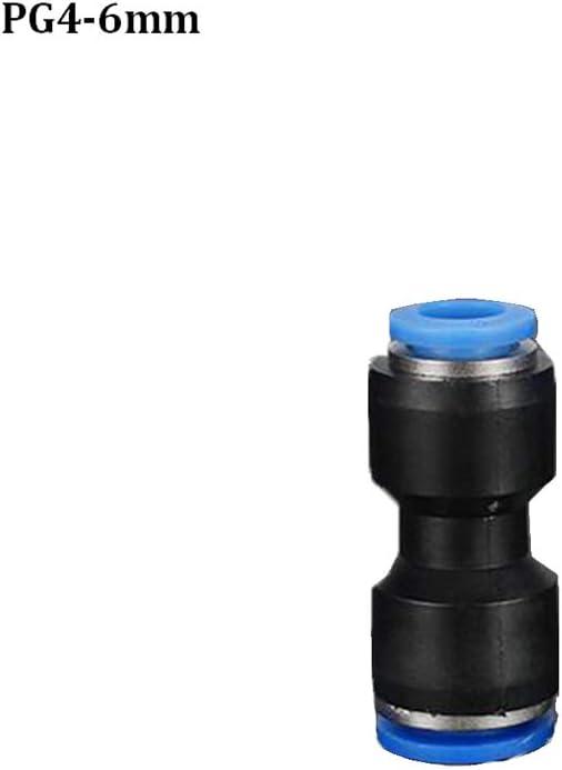 KingBra Lot de 5 connecteurs PG /à double voie en plastique pneumatique pour raccord rapide