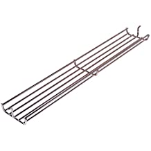Music City Metals 02347 Chrome Steel Wire Warming Rack Replacement for Select Weber Gas Grill Models