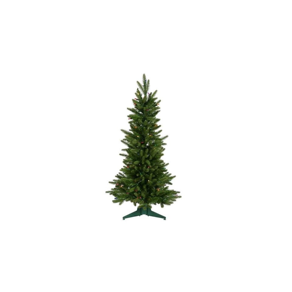 3 Pre Lit Frasier Fir Artificial Christmas Tree   Multi Lights