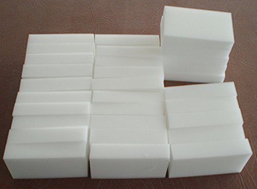 30 pcs Magic Sponge Eraser Melamine Cleaning Foam 3/4