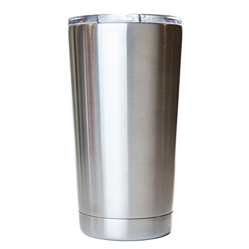 16 oz - Stainless Steel Lowball - Vacuum Insulated Cup With Lid
