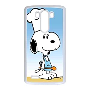 snoopy green LG G3 Cell Phone Case White R3328249