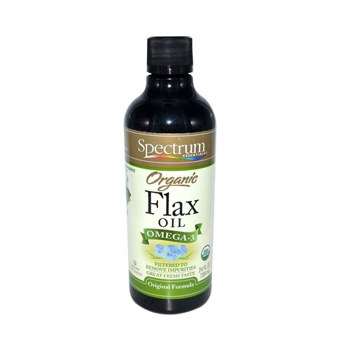 Spectrum Essentials Organic Flax Oil, 24 Fluid Ounce