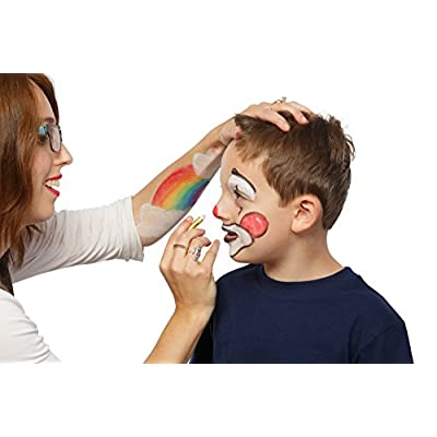 Dress Up America Face Paint 6 Color Crayon Color Face Paint Ultimate Party Pack: Toys & Games
