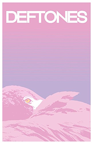 - Deftones flamingo Deluxe Textile Poster 104x75cm Flag
