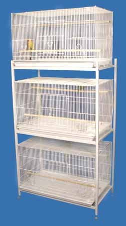 Bali Bungalow Bird Cage and Breeding Cage - 30