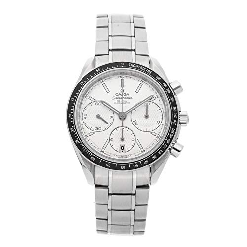 Watch Wrist Automatic Omega (Omega Speedmaster Mechanical (Automatic) Silver Dial Mens Watch 326.30.40.50.02.001 (Certified Pre-Owned))