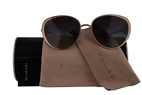 Bvlgari Authentic Sunglasses BV6092B Rose Gold w/Grey Gradient Lens 20148G BV 6092-B (57mm)