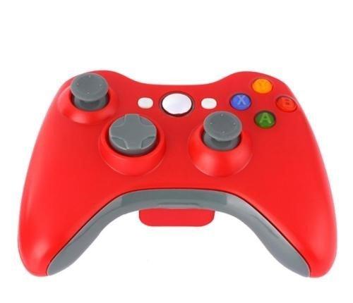 Spiel Wireless Controller,CamKing Xbox 360 Wireless Bluetooth Controller Neue Drahtlose Entfernten Pad-Game-Controller für Microsoft Xbox 360 PC / Windows 7 XP Whit Joypad (Rot)