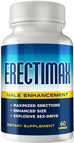 Erectimax - MAX Erection Pills - Male Enhancements Pills - Testosterone Booster- Increase Size, Stamina, Sex-Drive - Enlargement Pills for Men - Libido Booster - Male Performance Pills 2.0 by Erectimax