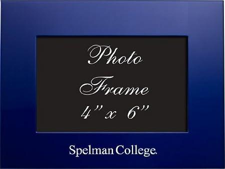 Inc 4x6 Brushed Metal Picture Frame LXG Blue Pepperdine University