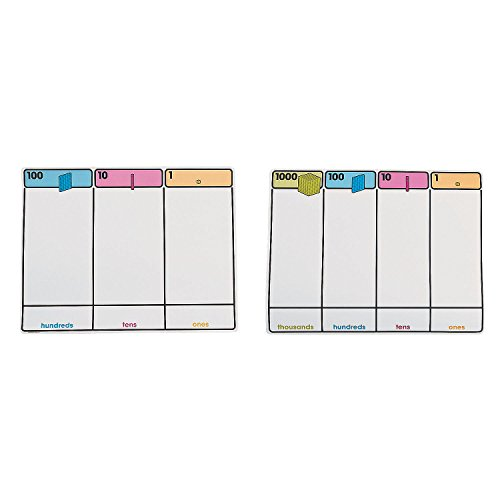 Base Ten Place Value Mats by CusCus
