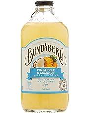 Bundaberg Pineapple and Coconut Sparkling Drink, 12 x 375 Milliliters