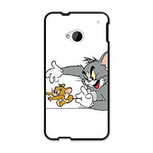 The best gift for Halloween and Christmas HTC One M7 Cell Phone Case Black Freak badass Tom and Jerry by disney villains VIK9184130