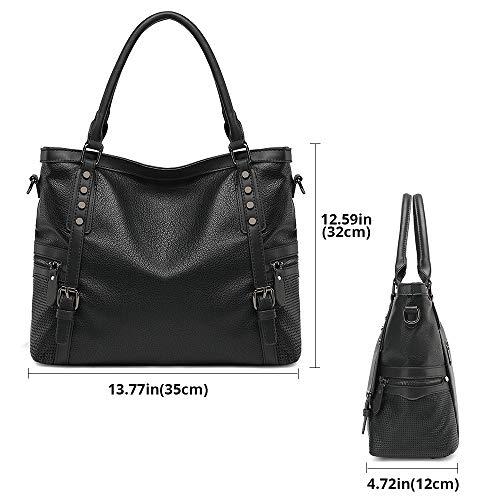Handbags-for-Women-JOYSON-Shoulder-Bag-Top-Handle-Satchel-Handbags-Tote-Rivets