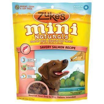 Zuke'S Mini Naturals Treats Salmon 6oz
