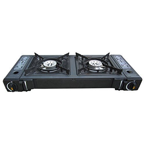 Amazon.com : Hercules Double Burner Portable Gas Stove : Sports & Outdoors