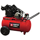 20 gallon portable air compressor - Porter Cable PXCMPC1682066 20-Gallon Single Stage Portable Air Compressor