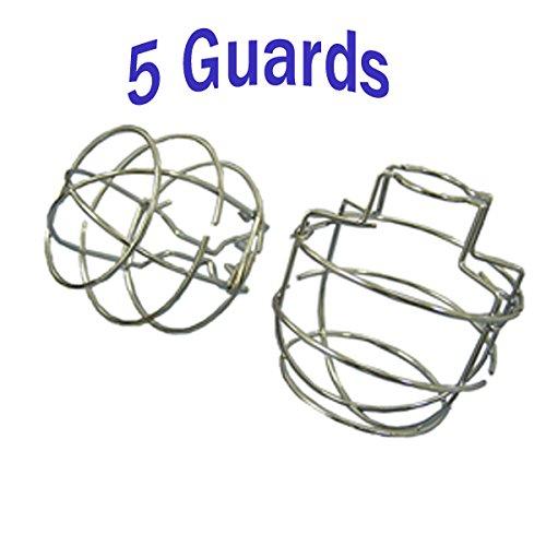 ( 5パック) FireスプリンクラガードCages semi-recessedスプリンクラーヘッドB01MZIQ8YW