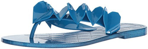 Nine West Women's Noricah Synthetic Flip-Flop, Turquoise Synthetic, 8 Medium US from Nine West