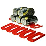 3 tier towel wine rack - Kitchen Organizer - Cans Beer Tank Fridge Silicone Pads Tile Cushion Foldable Wine Bottle Red Rack Space Saver Stacking - Adjustable Design Rotating Box Microwave Trash Lazy Table 10 Hanger