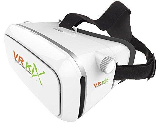 VRKiX Virtual Reality 3D Glasses, VR Headset for 360 Degr...