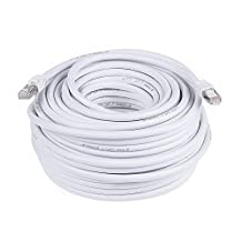 PrimeCables © 100ft Cat7 Ethernet Cable 10Gbps 600Mhz Cat 7 S/STP Molded Network Lan Cable ~Lifetime warranty