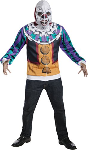 Rubie's Men's It The Movie Adult Pennywise Hoodie, Multicolor, X-Small