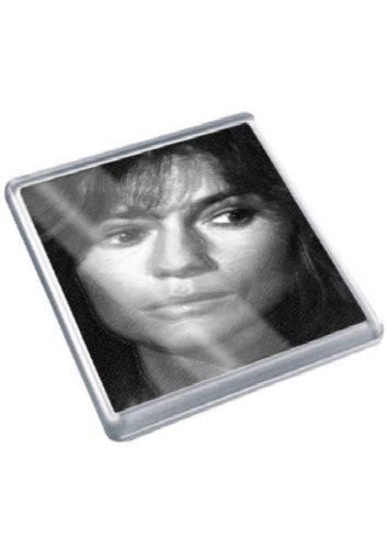 JAMIE LEE CURTIS - Original Art Coaster #js002 -