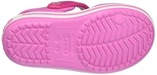 crocs Unisex-Kinder Crocband Sandal Kids Pink (Candy Pink/Party Pink)