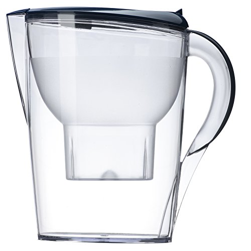Alkaline Water Pitcher - Best for Instantly Filtered, Clean Water - 3.5 Liter - 5 Stage Filtration...