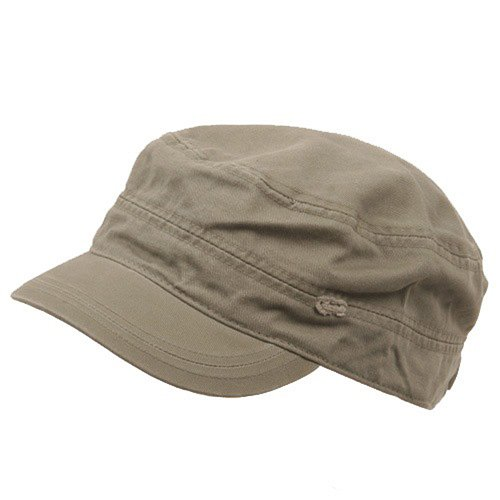 Cotton Army Cap Olive - 5