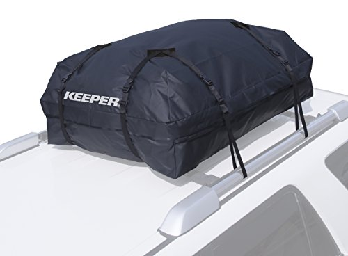 - Keeper 07204 Black Premium Waterproof Cargo Bag (15 Cubic Feet)