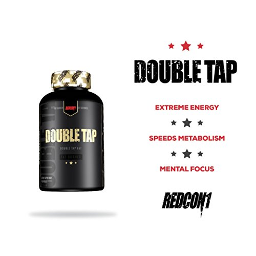 Redcon1 Double Tap Thermogenic Fat Burner - 90 Capsules
