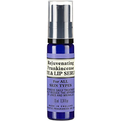 (NEAL'S YARD Remedies NEW Rejuvenating Frankincense Eye & Lip Serum, 10ml )