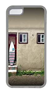 diy phone caseApple ipod touch 4 Case Cover - House And A Surf Board Custom PC Case Cover For ipod touch 4 - Tranparentdiy phone case