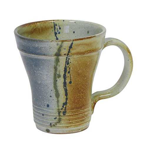 "Large Handmade Coffee Mug ""Grand Irish Latte"" by Kiltrea Pottery Ireland- Hand Glazed 100% Lead Free 16oz"