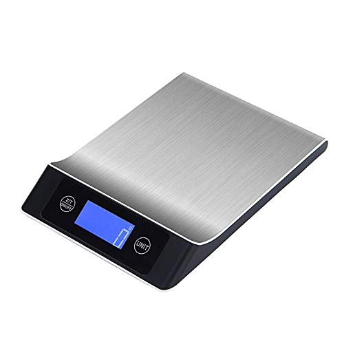 Weighing Scales - 5kg 1g Digital Scale Electronic Food Jewelry Balance Stainless Steel Platform Touch Bottom Lcd - Supply Grams Bluetooth Medical Body For Food Cooking Fat Power